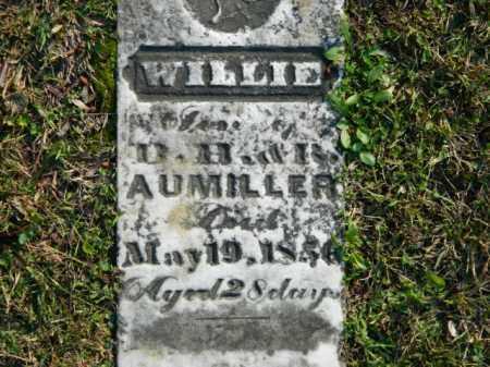 AUMILLER, WILLIE - Meigs County, Ohio | WILLIE AUMILLER - Ohio Gravestone Photos