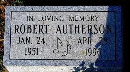 AUTHERSON, ROBERT - Meigs County, Ohio | ROBERT AUTHERSON - Ohio Gravestone Photos