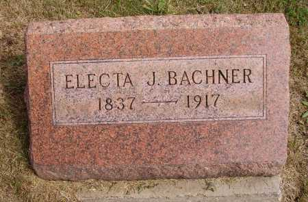 HOVEY BACHNER, ELECTA J. - Meigs County, Ohio | ELECTA J. HOVEY BACHNER - Ohio Gravestone Photos
