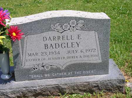 BADGLEY, DARRELL - Meigs County, Ohio | DARRELL BADGLEY - Ohio Gravestone Photos