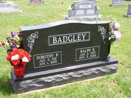 BADGLEY, RALPH - Meigs County, Ohio | RALPH BADGLEY - Ohio Gravestone Photos