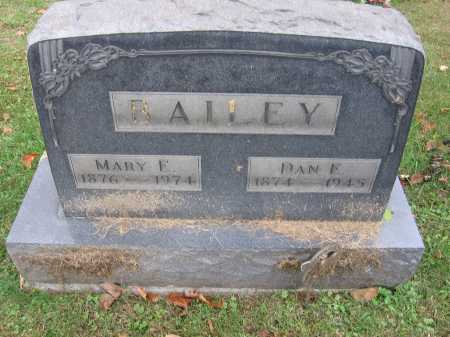 BAILEY, MARY E. - Meigs County, Ohio | MARY E. BAILEY - Ohio Gravestone Photos