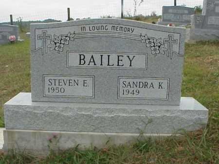 BAILEY, STEVEN E. - Meigs County, Ohio | STEVEN E. BAILEY - Ohio Gravestone Photos