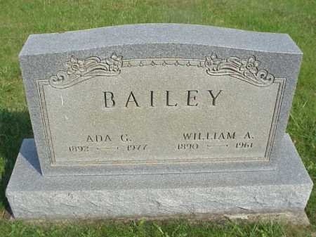 BAILEY, ADA G. - Meigs County, Ohio | ADA G. BAILEY - Ohio Gravestone Photos