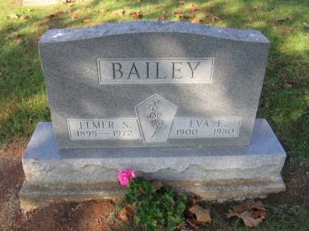EVANS BAILEY, EVA E. - Meigs County, Ohio | EVA E. EVANS BAILEY - Ohio Gravestone Photos
