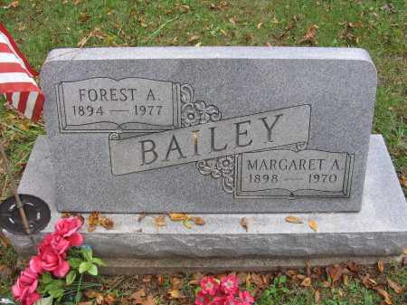 BAILEY, MARGARET - Meigs County, Ohio | MARGARET BAILEY - Ohio Gravestone Photos
