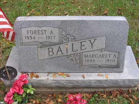 BAILEY, FOREST A. - Meigs County, Ohio | FOREST A. BAILEY - Ohio Gravestone Photos
