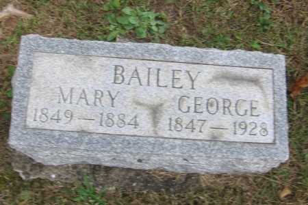 MERCER BAILEY, MARY - Meigs County, Ohio | MARY MERCER BAILEY - Ohio Gravestone Photos