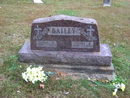 BAILEY, ALICE - Meigs County, Ohio | ALICE BAILEY - Ohio Gravestone Photos