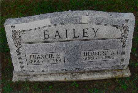 BAILEY, FRANCIS R. - Meigs County, Ohio | FRANCIS R. BAILEY - Ohio Gravestone Photos