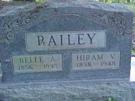 BAILEY, BELLE A. - Meigs County, Ohio | BELLE A. BAILEY - Ohio Gravestone Photos