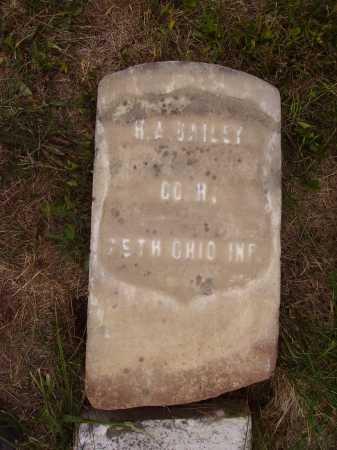 BAILEY, H.A. - Meigs County, Ohio | H.A. BAILEY - Ohio Gravestone Photos