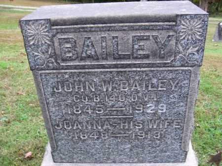 BAILEY, JOANNA - Meigs County, Ohio | JOANNA BAILEY - Ohio Gravestone Photos