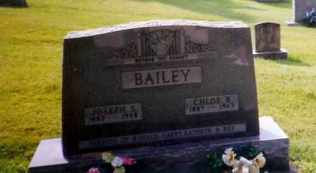 BAILEY, JOSEPH S. - Meigs County, Ohio | JOSEPH S. BAILEY - Ohio Gravestone Photos