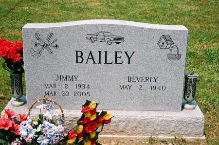 BAILEY, JIMMY - Meigs County, Ohio | JIMMY BAILEY - Ohio Gravestone Photos