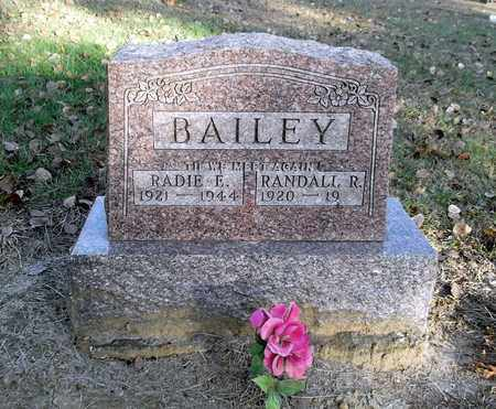 SANTEE BAILEY, RADIE ELIZABETH - Meigs County, Ohio | RADIE ELIZABETH SANTEE BAILEY - Ohio Gravestone Photos