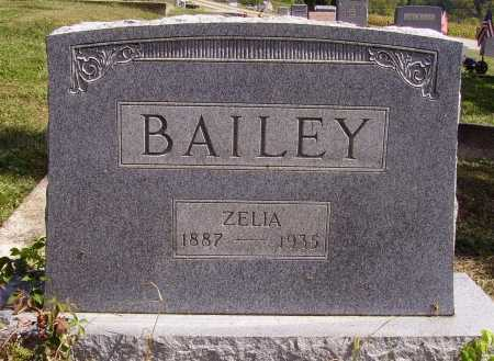 BAILEY, ZELIA - Meigs County, Ohio | ZELIA BAILEY - Ohio Gravestone Photos