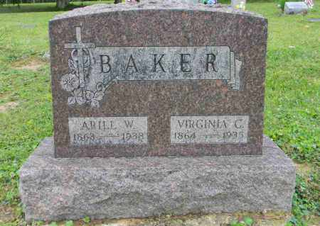 BAKER, VIRGINIA CAROLYN - Meigs County, Ohio | VIRGINIA CAROLYN BAKER - Ohio Gravestone Photos