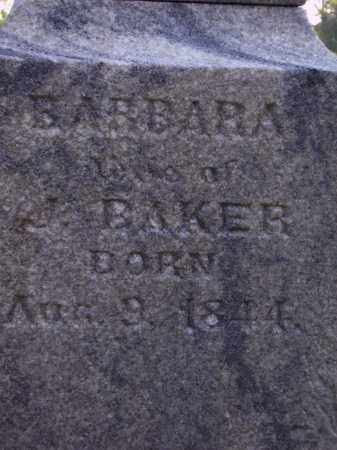 BAKER, BARBARA  CLOSE VIEW - Meigs County, Ohio | BARBARA  CLOSE VIEW BAKER - Ohio Gravestone Photos