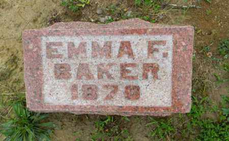 BAKER, EMMA F. - Meigs County, Ohio | EMMA F. BAKER - Ohio Gravestone Photos