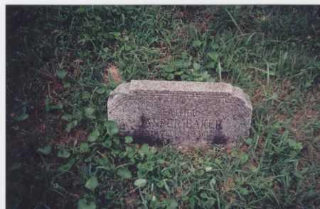 BAKER, JASPER - Meigs County, Ohio   JASPER BAKER - Ohio Gravestone Photos