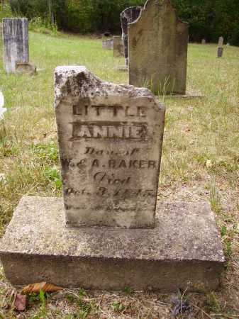BAKER, LITTLE ANNIE - Meigs County, Ohio | LITTLE ANNIE BAKER - Ohio Gravestone Photos
