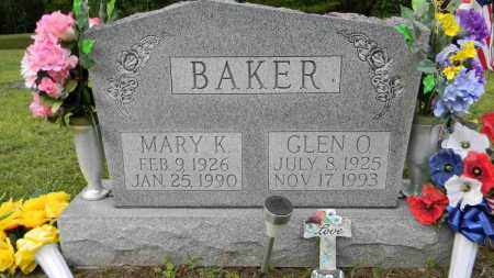BAKER, MARY K. - Meigs County, Ohio | MARY K. BAKER - Ohio Gravestone Photos