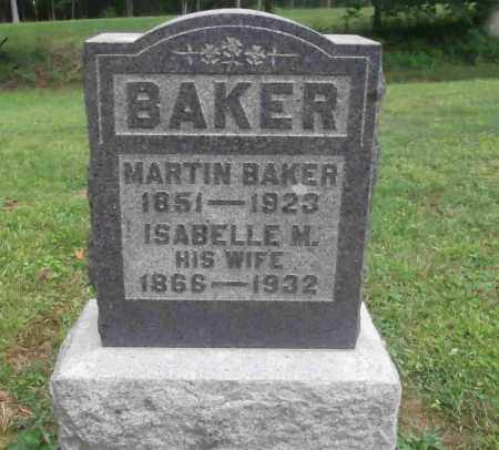 BAKER, ISABELLE M. - Meigs County, Ohio | ISABELLE M. BAKER - Ohio Gravestone Photos