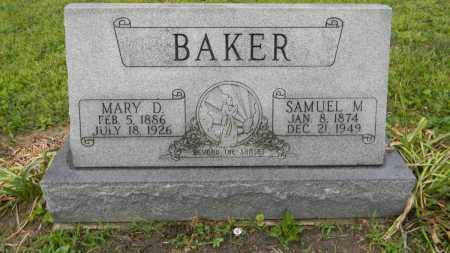 BAKER, SAMUEL - Meigs County, Ohio | SAMUEL BAKER - Ohio Gravestone Photos