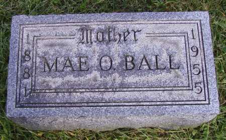 STEWARD BALL, MAE OLIVE - Meigs County, Ohio | MAE OLIVE STEWARD BALL - Ohio Gravestone Photos
