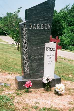 BARBER, WALTER R. - Meigs County, Ohio | WALTER R. BARBER - Ohio Gravestone Photos