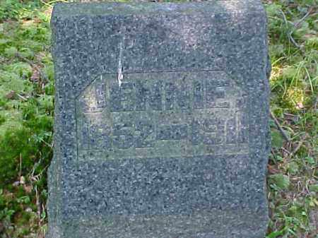 BARCLAY, JENNIE - Meigs County, Ohio | JENNIE BARCLAY - Ohio Gravestone Photos