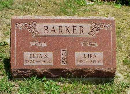 GRATE BARKER, ELTA S. - Meigs County, Ohio | ELTA S. GRATE BARKER - Ohio Gravestone Photos