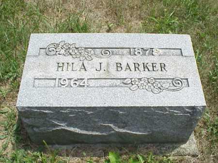 BARKER, HILA J. - Meigs County, Ohio | HILA J. BARKER - Ohio Gravestone Photos