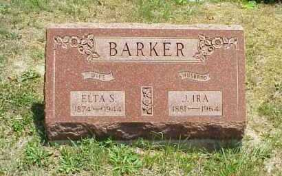 BARKER, J. IRA - Meigs County, Ohio | J. IRA BARKER - Ohio Gravestone Photos
