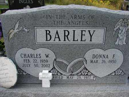 BARLEY, CHARLES W - Meigs County, Ohio | CHARLES W BARLEY - Ohio Gravestone Photos