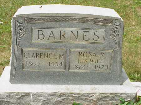 BARNES, CLARENCE M. - Meigs County, Ohio | CLARENCE M. BARNES - Ohio Gravestone Photos