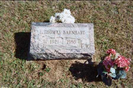 BARNHART, EARL THOMAS - Meigs County, Ohio | EARL THOMAS BARNHART - Ohio Gravestone Photos