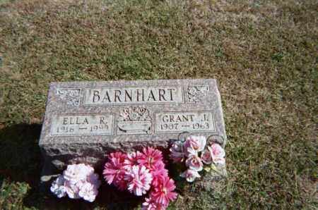 BARNHART, ELLA R - Meigs County, Ohio | ELLA R BARNHART - Ohio Gravestone Photos