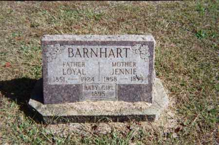 BARNHART, LOYAL - Meigs County, Ohio | LOYAL BARNHART - Ohio Gravestone Photos