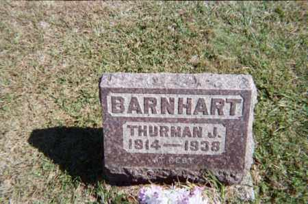 BARNHART, THURMAN J. - Meigs County, Ohio | THURMAN J. BARNHART - Ohio Gravestone Photos