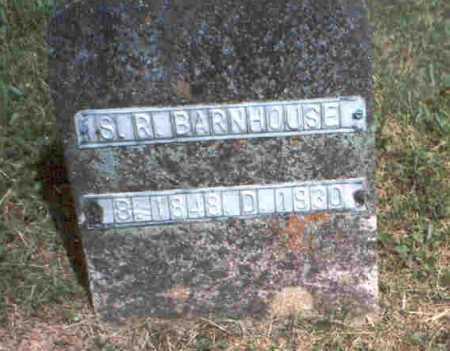 BARNHOUSE, S. R. - Meigs County, Ohio | S. R. BARNHOUSE - Ohio Gravestone Photos