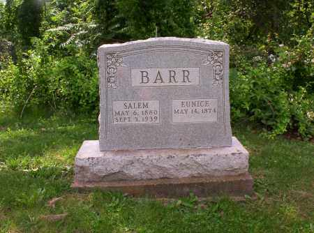 BARR, SALEM & EUNICE - Meigs County, Ohio | SALEM & EUNICE BARR - Ohio Gravestone Photos
