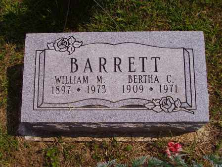 BARRETT, WILLIAM M. - Meigs County, Ohio | WILLIAM M. BARRETT - Ohio Gravestone Photos