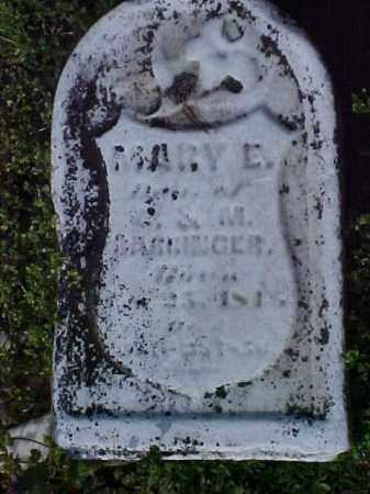 BARRINGER, MARY E. - Meigs County, Ohio | MARY E. BARRINGER - Ohio Gravestone Photos