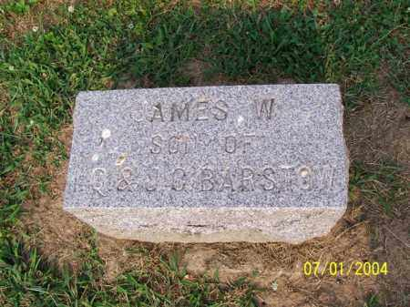 BARSTOW, JAMES - Meigs County, Ohio | JAMES BARSTOW - Ohio Gravestone Photos