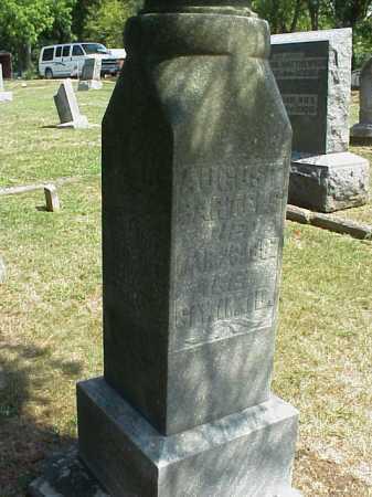 BARTELS, AUGUST - Meigs County, Ohio   AUGUST BARTELS - Ohio Gravestone Photos