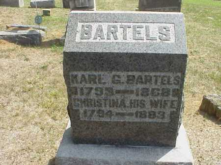 BARTELS, CHRISTINA - Meigs County, Ohio | CHRISTINA BARTELS - Ohio Gravestone Photos