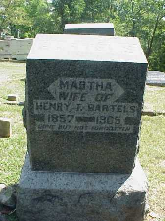 BARTELS, MARTHA - Meigs County, Ohio | MARTHA BARTELS - Ohio Gravestone Photos