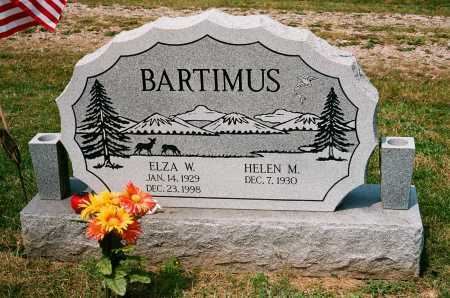 BARTIMUS, ELZA W. - Meigs County, Ohio | ELZA W. BARTIMUS - Ohio Gravestone Photos